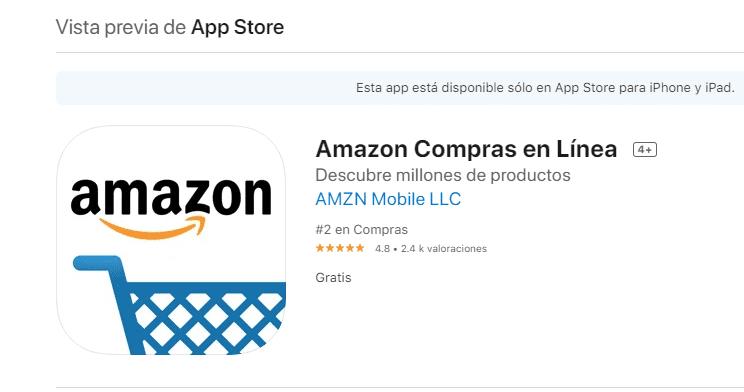App Store Peru Amazon