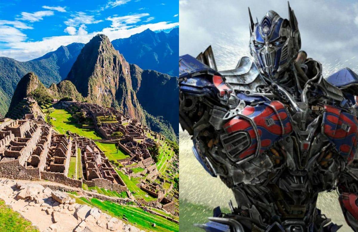 transformers machupicchu