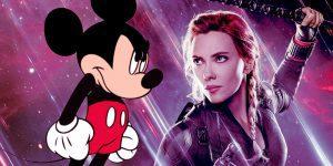 Black Widow Disney Pelea