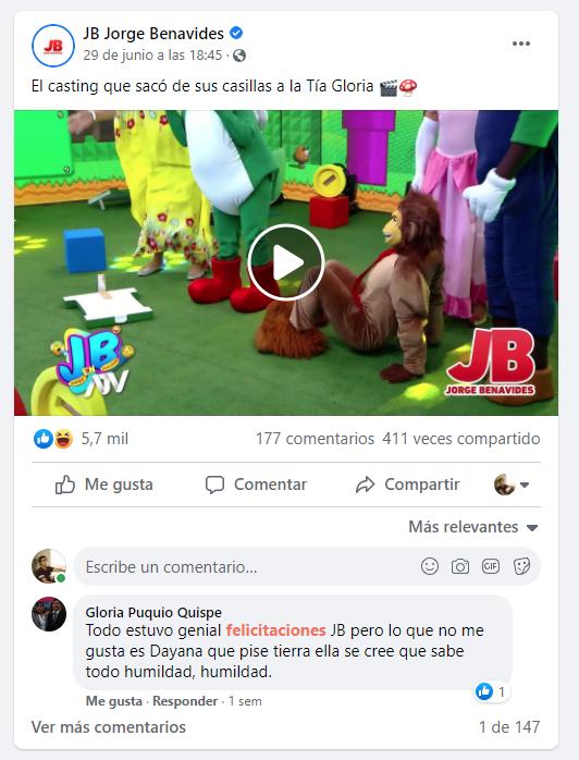 Casting Nintendo - Tia Gloria