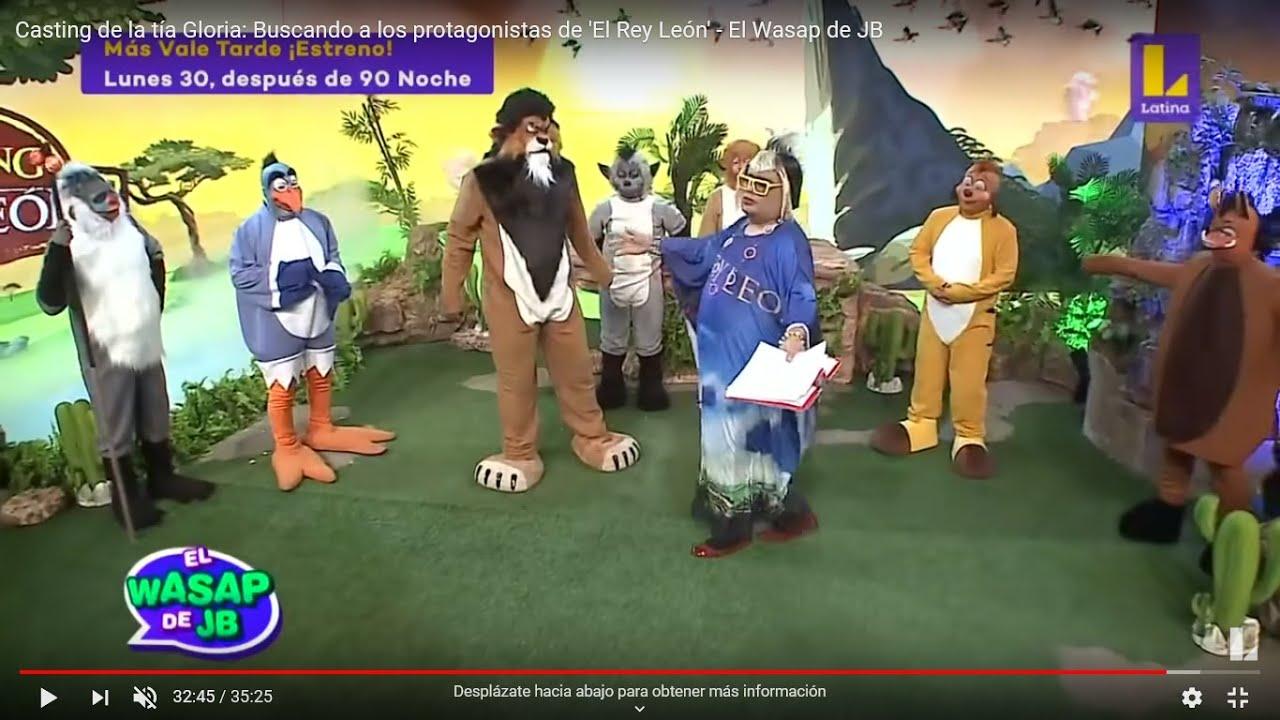 Casting Rey Leon - TiaGloria