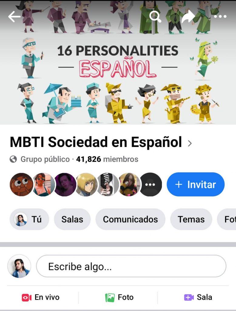 MBTI Facebook